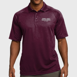 F-1 Dad Dri-Mesh Polo