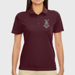 F-1 Mom Performance Polo