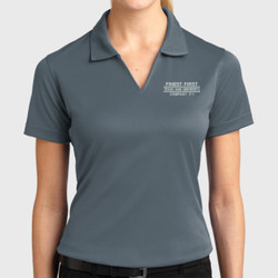 F-1 Ladies Dri-Mesh Polo
