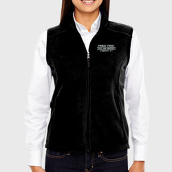 F-1 Ladies Fleece Vest