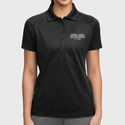 F-1 Mom Dri-Mesh Polo